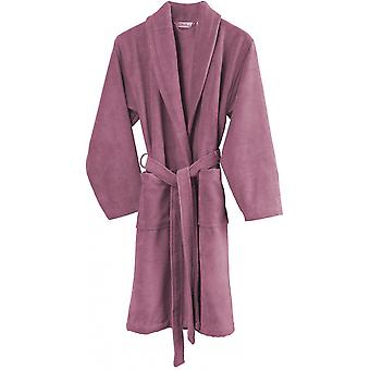 halat de baie Felicia femei bumbac roz dimensiunea L