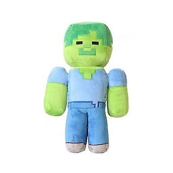 36cm Minecrafted My World Iron Golem Sword Pickaxe Stone Plush Toys Action Figure Room Decoration Kids Toy Gift Suffered Doll