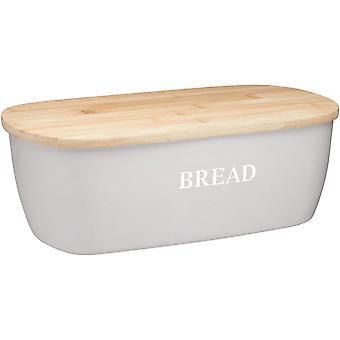 Kitchen Craft Bamboo Eco Friendly Bread Bin