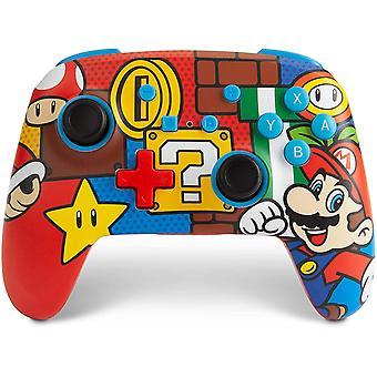 Enhanced Wireless Controller for Nintendo Switch – Mario Pop Nintendo Switch Lite, Gamepad,
