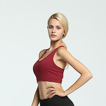 SPORX Women's Sports Bra with Phone holder Red