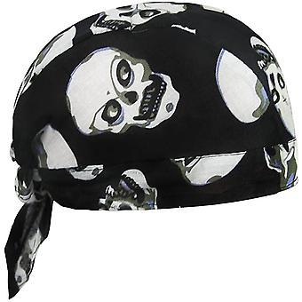 FengChun Unisex Modische Skelette Bandana Kopftcher Halstuch Schlauchtuch Biketuch UV Schutz