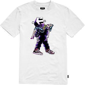 Etnies Camiseta de manga corta prohibida en blanco