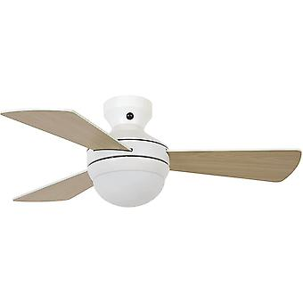 Ceiling fan Airlie Hugger White with Light and Remote