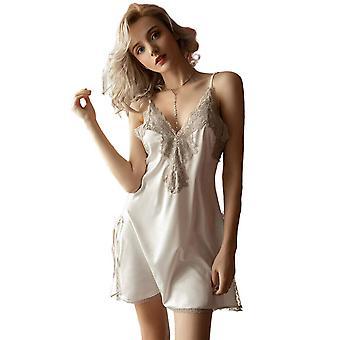 Regenboghorn Sexy Sling Lingerie Nightdress Lace Sling Pajamas FL5534