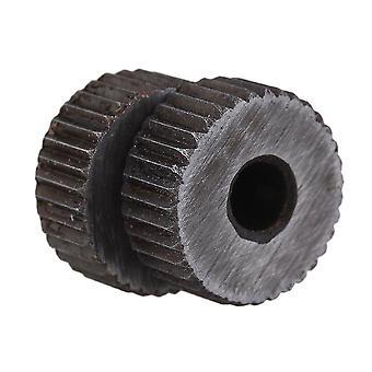 2個用 1.6mm ピッチ 19mm OD 単一の直線粗いパターン線形の編む車輪 WS2823