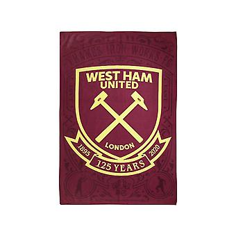 West Ham 125 jaar handdoek