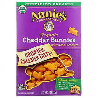 Annie's Homegrown Cracker Chdr Bunny, Case of 12 X 7.5 Oz