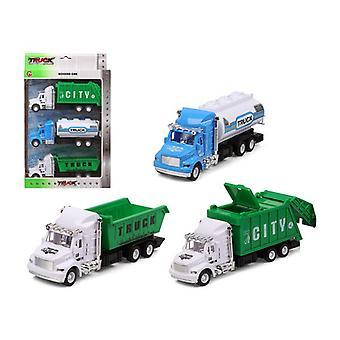 Комплект легковых автомобилей City Truck 119282 (3 uds)