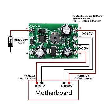 Ac-dc 110-220v Schaltnetzteilmodul AC-DC Isolation Eingangsausgang 5v /12v /100ma /500ma
