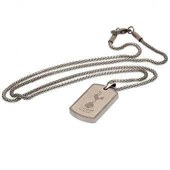 Tottenham Hotspur FC Icon Dog Tag Chain Officieel gelicentieerd product