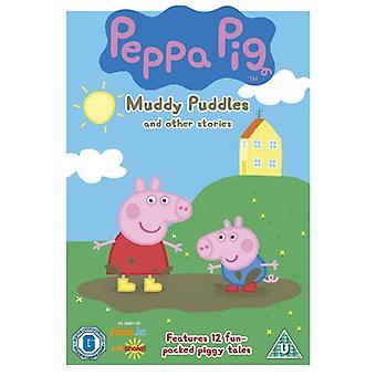 Peppa Pig Muddy Plassen & Andere Verhalen DVD