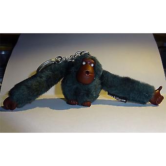 Kipling Monkey Called Eddy Grey Keyring