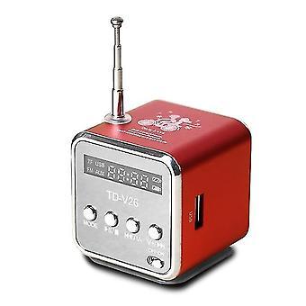 Mini Radio Fm Digital Portable Boxe cu Receptor Fm Suport Sd / tf Card