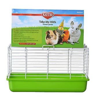 """Kaytee Take Me With Travel Center for Small Pets - Medium (13""""L x 8""""W x 7.5""""H)"""