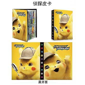 240 Pokemon Card Collection Booklet+100pcs Rare Pokemon Cards