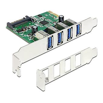 Delock PCI Express Karte > 4 x externem USB 3.0