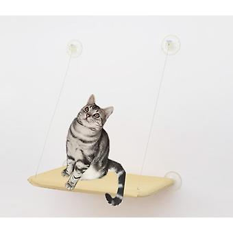 Pet Cat Removable And Washable Suction Cup Hammock (55*35cm)
