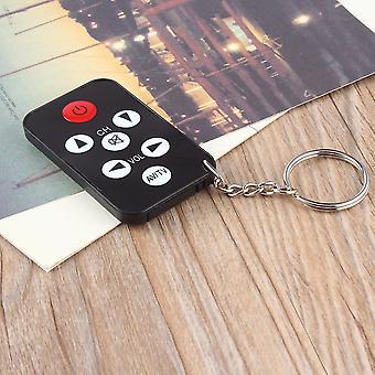 Mini Universal Infrared Tv Remote Control Keychain