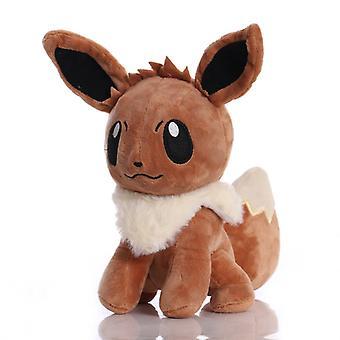 20cm Takara Tomy Pokemon Eevee Plush Stuffed Toys Soft Cartoon Animals Toy Doll Gifts For Children Kids