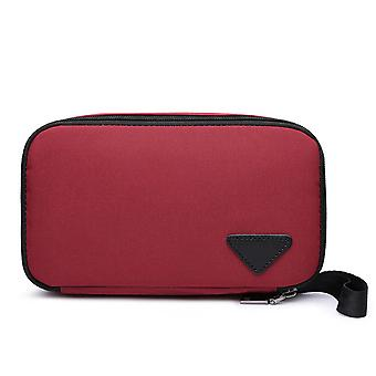 European And American Fashion Men's Clutch, Waterproof Polyester Cloth Wallet, Daily Necessities Bag, Portable Storage Bag, Clutch Bag
