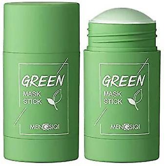 Caraele Green Tea Purifying Face Mask Stick Deep Pore Clean Improve Skin Blackhead Removal