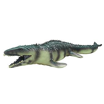 Biologischer pädagogischer Kunststoff simuliert Mosasaurus Dinosaurier Modell Kinder Kinder Lebensecht Spielzeug Geschenk