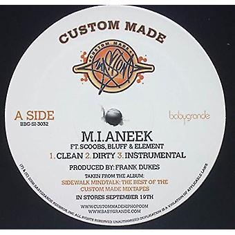 Custom Made - M.I.Aneek/Go Away [Vinyl] USA import