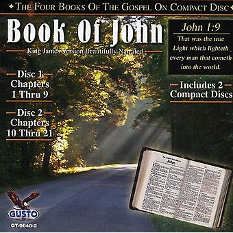 Book of John - Chapters 1-21 [CD] USA import
