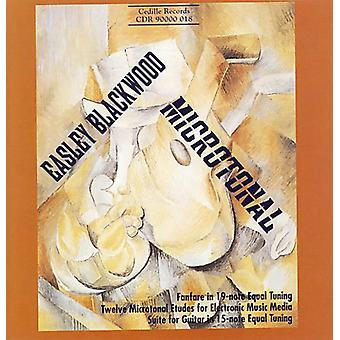 E. Blackwood - Easley Blackwood: Microtonal [CD] USA import