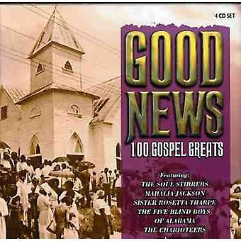 Hyvä uutinen 100 evankeliumin Greatest - hyvä uutinen 100 evankeliumin suurin [CD] Yhdysvallat tuoda