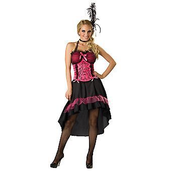 Limuzína showgirl umí tanečník Burlesque ženský kostým