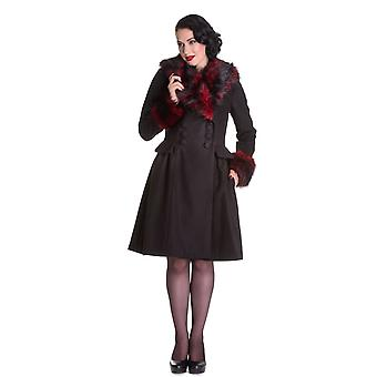 Hell Bunny Rock Noir Coat