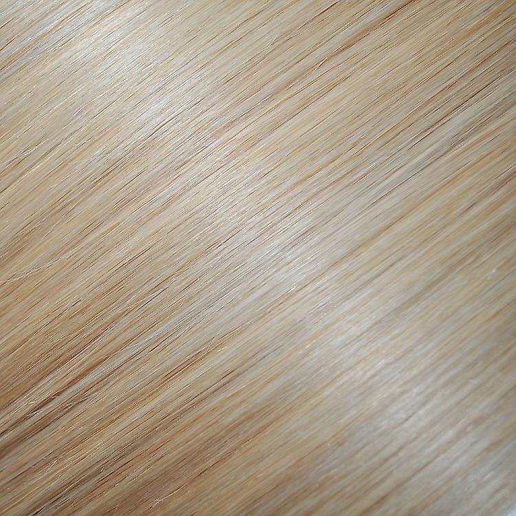 #60/22-clip-in Hair Extensions - tête complète - Blonde naturelle avec Barbie Blonde met en évidence