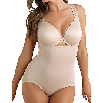 Miraclesuit Shapewear 2918 Women's Shape Away Nude Firm/Medium Control All In One Body
