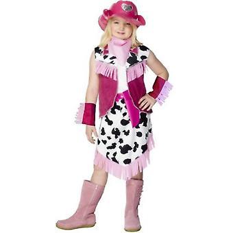 Kinder Kostüme Rodeo Girl Kostüm