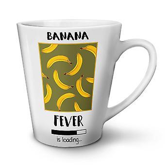 Banana Fever Funny NEW White Tea Coffee Ceramic Latte Mug 12 oz | Wellcoda