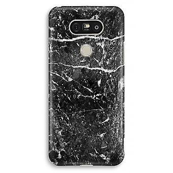 Volledige Print van LG G5 Case - zwart marmer