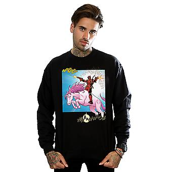Marvel Men's Deadpool Hey You Sweatshirt