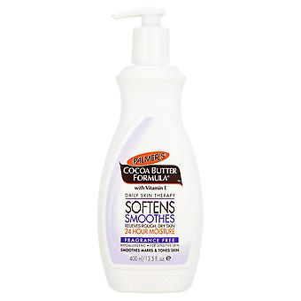 Palmers kakaosmør formel Fragrance-Free Lotion 400ml
