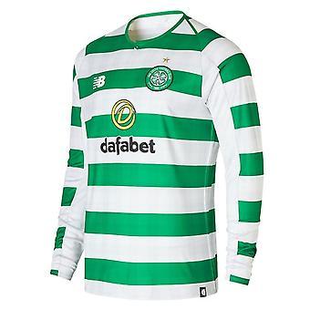 2018-2019 Celtic Home Langarm-Shirt