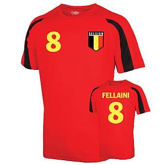 Belgium Sports Training Jersey (fellaini 8)