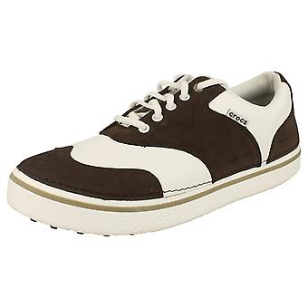 Mens Crocs Lace Up Trainers Preston