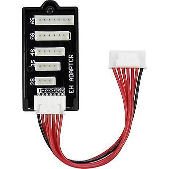 LiPo Balancer Board Typ (Ladegeräte): PQ-Typ (Akkus): EH geeignet für (No. von Batterien): 2-6 VOLTCRAFT
