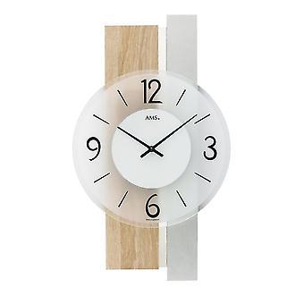 Horloge murale AMS - 9554