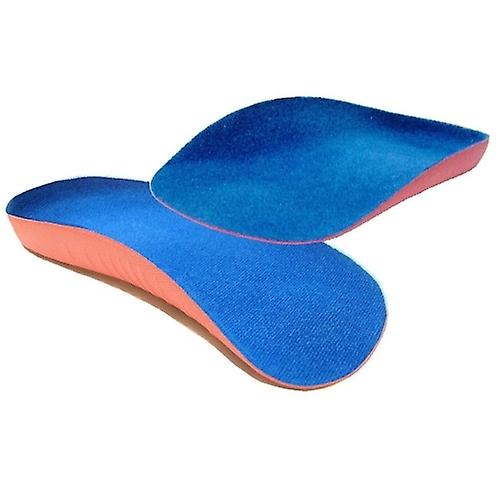 Arch Aids - Foot Arch Support UK Size 3-7 3/4 Length Orthotic Insole PAIR for Weak and Fallen Arches!