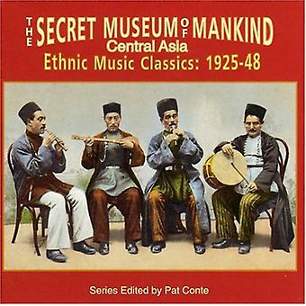 Secret Museum of Mankind - Central Asia Ethnic Music Clas [CD] USA import