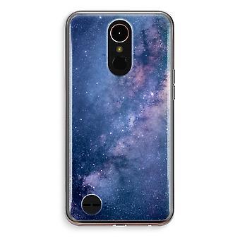 LG K10 (2018) Transparent fodral (Soft) - nebulosan