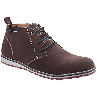 Stone Creek Mens BeaconHi Suede Lace Up Ankle Chukka Boots