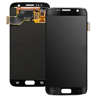 LCD Display & Touch Screen Digitizer Assembly Replacement for Samsung Galaxy S7 (Black)
